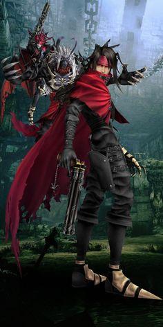 Final Fantasy VII Vincent Valentine Dungeon by hieri on DeviantArt Final Fantasy Cloud, Final Fantasy Artwork, Final Fantasy Characters, Final Fantasy Vii Remake, Fantasy Series, Betty Boop, Character Art, Character Design, Final Fantasy Collection