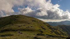 Aj slovenské hory sú úžasné. Hrebeň Nízkých Tatier..  Slovak mountains are also amazing. Low Tatras ridge..