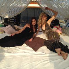 #PortHercule About last night ... @lifeofthemodel and @stephanie.fournier ready for @1dropwater charity Gala in Monaco ... #lifeofthemodel #girls #fashion #gala #charity by anastassiakhozissova from #Montecarlo #Monaco