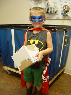 """The Masked Helper - Trendy Tree Blog Today we had a """"Masked Helper"""" in the shop…..part Batman …part Superman……note the supersized candy cane strapped to his waist…..ooops…..sorry…….tool belt…."""