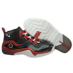 Nike Zoom Phenom Basketball Shoes Black Red White