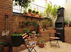 LindonaRem- Comunidade da Moda : Decoração de Jardins para Pequenos Espaços