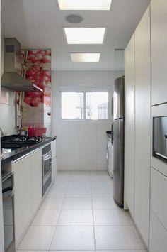 Cozinhas e lavanderias integradas