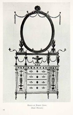 Robert Adams, furniture.