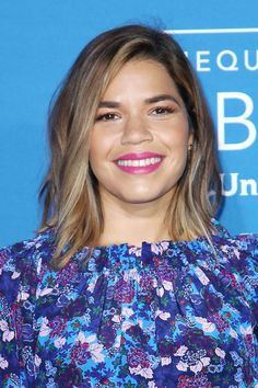 Hairstyles For Round Faces America Ferrera