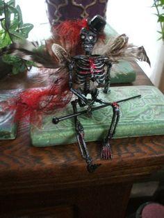 Evil Flying Dead tap dance fairy fae by jenuineserendipity on Etsy, $45.00