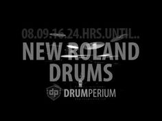 08.09.16.24.HRS... ROLAND NEW DRUMS! FINALLY!!! WWW.DRUMPERIUM.COM