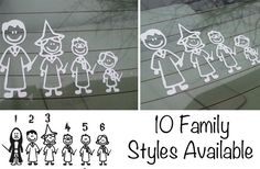 Everyone needs one of these. :) Too cute.   Vinyl Car Decals Choose From 10 Styles
