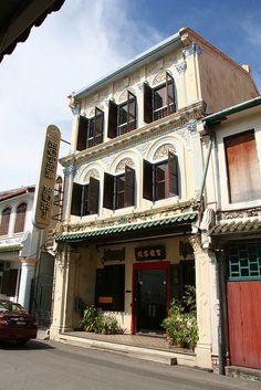 Old Chinatown, Melaka, Malaysia