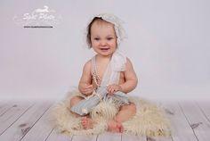 Baby Girl Vintage Set Baby Girl bunny set Baby by LeopardontheHOOK