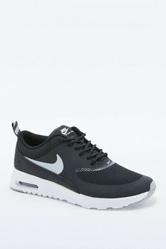 Nike Air Max Black and White Thea Trainers