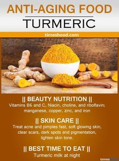 Turmeric for anti-aging. Best anti-aging food for wrinkles free skin. Drink turmeric milk to clear scars. Turmeric for anti-aging. Best anti-aging food for wrinkles free skin. Drink turmeric milk to clear scars. Anti Aging Tips, Best Anti Aging, Anti Aging Cream, Anti Aging Skin Care, Food For Glowing Skin, Best Time To Eat, Turmeric Milk, Turmeric Arthritis, Turmeric Bombs