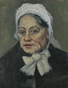 Portret van een oude vrouw. Vincent van Gogh, 1885