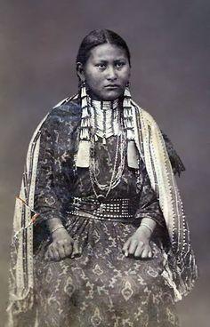 YANKTON GIRL , circa 1885