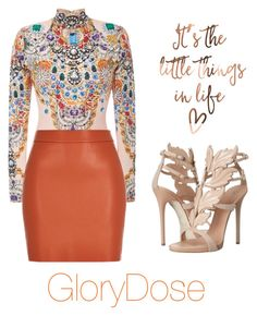 """""""Untitled #215"""" by chichimia on Polyvore featuring The Blonds and Giuseppe Zanotti"""