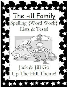 Simply Centers: Fern Smith's The -ill Family Spelling Lists & Tests $0