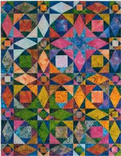 Storm at Sea - another beautiful, colorful quilt