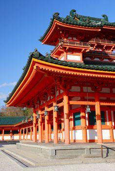 Heian Jingu Shrine (平安神宮)