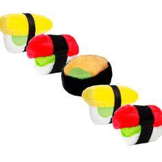 Sushi Dog Toys @Allie Dillard