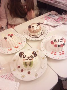 Animal Desserts