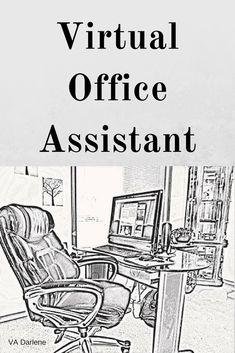 Virtual Office Assistant - #VirtualOffice #Virtual #OnlineEntrepreneurs #Solopreneurs #VA Virtual Office Assistant, Business, Store, Business Illustration