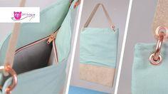 Recyceltes Leder: Materialtest und Anleitung Tasche aus ReLeda – DIY Eule