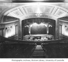 "Rialto Theatre interior - demolished in 1969 in the name of ""Urban Renewal"""