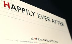 Creative Review - Pearl Productions