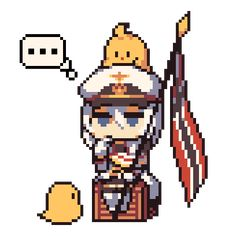 Tagged with pixel art, emotes, azur lane, azurlane, blhx; Anime Pixel Art, Anime Art, Pixel Art Background, Psycho Girl, Pixel Animation, Chibi, Anime Military, Video Game Anime, Pretty Anime Girl