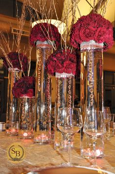 Elegant Table Centerpiece