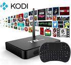 T8 PRO Kodi Fully Loaded Quad Core Android 5.1 Smart TV Box XBMC 4K  Keyboard