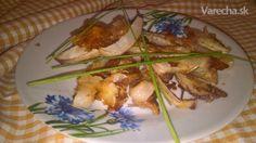 Kvakové hranolčeky s parmezánom