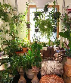 Room With Plants, House Plants Decor, Plant Decor, Plant Rooms, Decoration Photo, Decoration Design, Floor Plants, Plant Aesthetic, Interior Plants