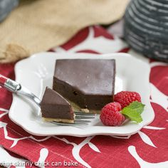 Truffle Brownies from That Skinny Chick Can Bake - Hip Foodie Mom
