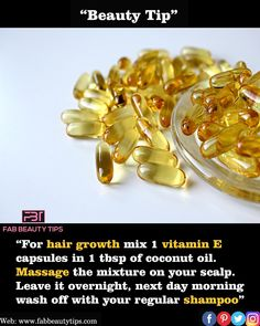 """Beauty Tip : """" Vitamin E oil may treat Stretch Marks"""" . Apply vitamin E oil onto the skin to increase levels of the nutrient in the skin tissue. To reduce the appearance of these marks, apply it regularly on the area and rub gently . Beauty Tips For Glowing Skin, Beauty Tips For Hair, Beauty Skin, Beauty Hacks, Natural Health Tips, Good Health Tips, Health And Beauty Tips, Hair Remedies For Growth, Skin Care Remedies"""