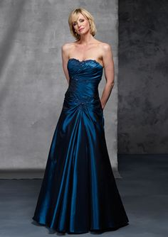 Elastic Satin Draped Ball Gown Cute Sweetheart Inlay Appliques Strapless Garment For Mother Of Bride
