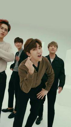 Sandeul-ah  being cute as always