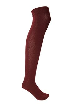 Solid Knee-High Socks | FOREVER21 - 2000121609