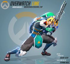 Overwatch Link (Fan Art) — polycount