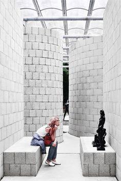 kröller-müller museum - sonsbeek paviljoen (1966, Arnhem | 2006, Otterlo) - Aldo van Eyck