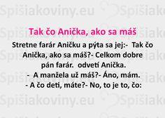 Tak čo Anička, ako sa máš - Spišiakoviny.eu