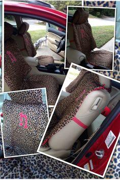 DIY Custom Car Seat Covers
