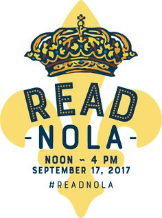 So excited to be a part of #ReadNOLA next month in--you guessed it--New Orleans. #SIBA17 #SheReads