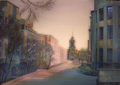 Morning in the city / by Irene Vlassova