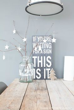 If you're waiting for a sign, this is it!