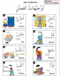 prepositions in arabic Arabic Verbs, Arabic Phrases, Learn Turkish Language, Arabic Language, Arabic Handwriting, Learn Arabic Online, Arabic Alphabet For Kids, Arabic Lessons, English Language Learning