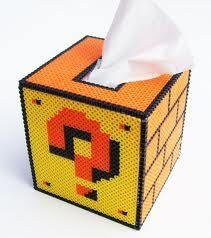 TaschentuchBox Bügelperlen