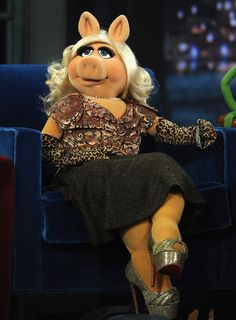 The original plus size diva My nickname at school was Miss Piggy! Wish I'd realised how to love that nickname then, instead of being embarrassed by it!