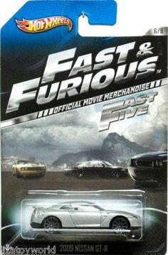 Nissan Skyline GT-R (R34) Hot Wheels 2013 FAST & FURIOUS #3/8 Movie Cars
