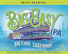 This beer was inspired by life in the Big Easy, the Mississippi River and the paddlewheel steamboats that have traveled these waters for nearly two centuries. When you kick back and watch the Mississippi from the levee, the boats and barges seem to slip by at a snail's pace, easing on down the river.The Mississippi rolls right through the heart of New Orleans, past Jackson Square.